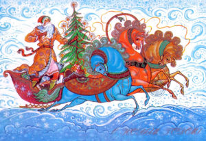 Новогодние открытки ссср (6)