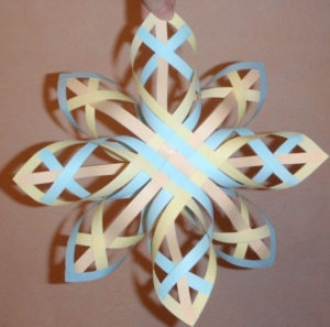 Объёмные снежинки (13)