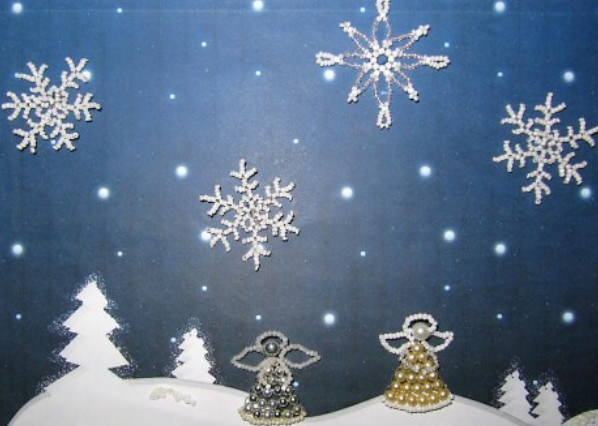 Поделки из бумаги к рождеству своими руками