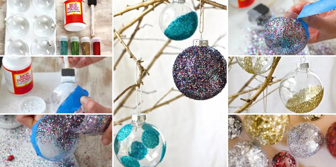 Ёлочные игрушки своими руками к Новому году!