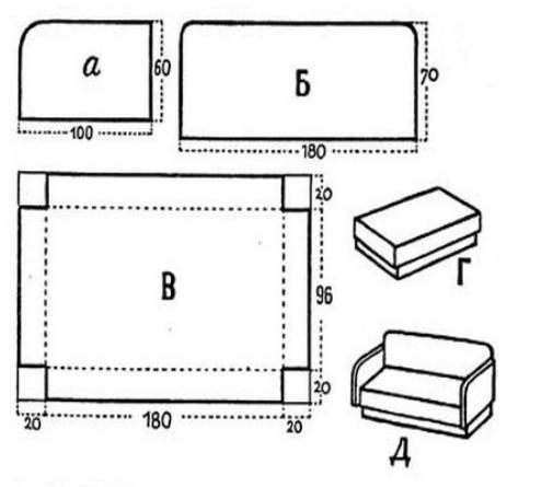 Как сделать мебель для больших кукол 189