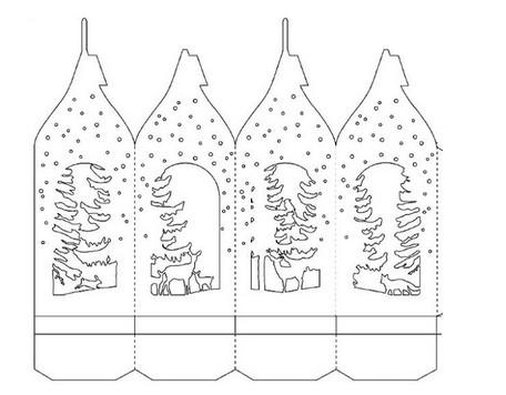 8 лучших идей как украсить окна на Новый год...