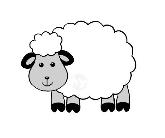 Открытки, открытки овечки из ваты