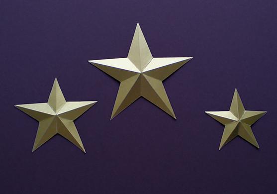Открытка 23 февраля объемная звезда, утро картинки красивые