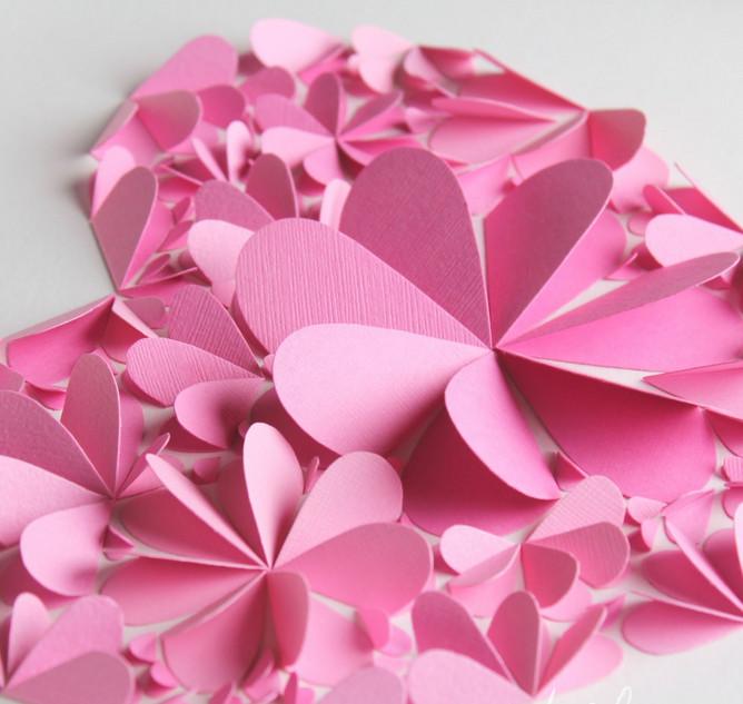 Свадьбе смешные, открытки цветы из сердечек