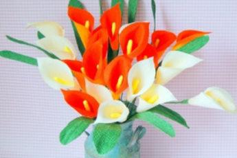 Розы букеты из конфет своими руками фото 140