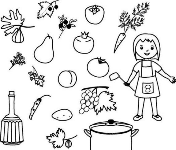 Щавель картинка для детей