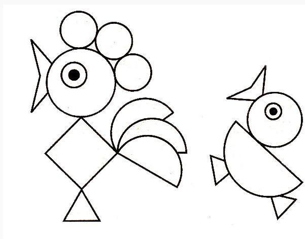 Pola Bentuk Geometris Untuk Ukiran
