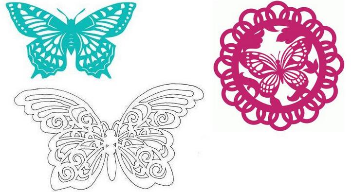 Гитары без, бабочки на открытку своими руками из бумаги