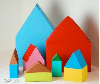 Вторая жизнь картонных коробок: 30+идей, достойных внимания...