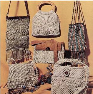 Макраме, ты моё макраме: сумки...