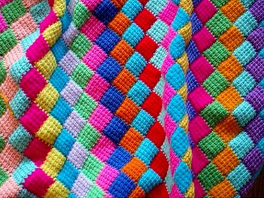 Вязание в стиле пэчворк спицами: преображение своими руками...