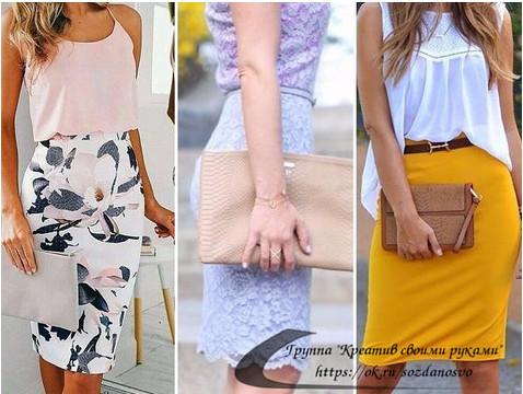Красивую юбку на лето можно сшить своими руками! Посмотрите идеи и выкройки.