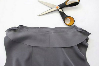 Шьём платье без выкройки...