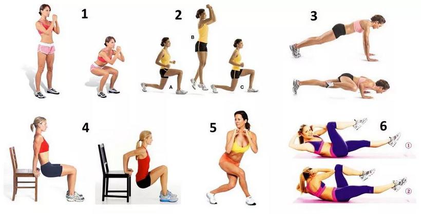 Упражнения против целлюлита (с показательными картинками)...