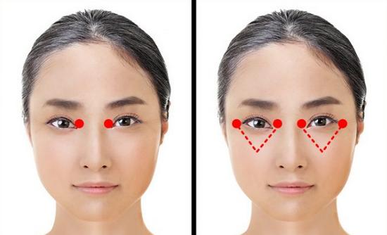 Японская техника омоложения кожи вокруг глаз, которая занимает всего 1 минуту...